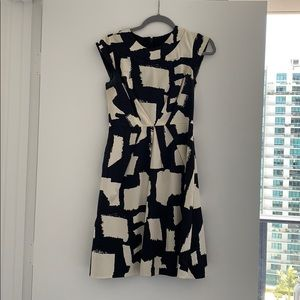 Kate Spade black/cream dress size 0